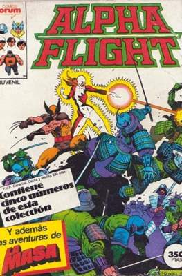 Alpha Flight (Vol. 1) (Retapado Rústica) #3