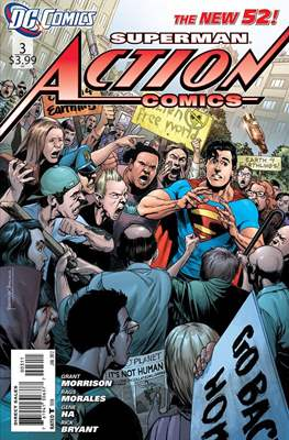Action Comics Vol. 2 (2011-2016) (Grapa) #3