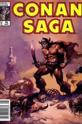Conan Saga (Comic-book) #16