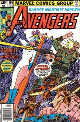 The Avengers Vol. 1 (1963-1996) (Grapa) #195