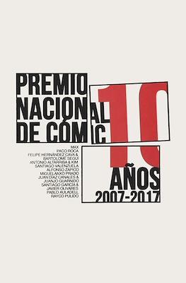 Premio nacional de cómic. 10 años. 2007-2017