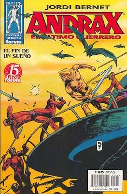 Andrax, el ultimo guerrero (Grapa.) #13