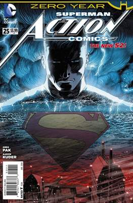 Action Comics Vol. 2 (2011-2016) (Grapa) #25