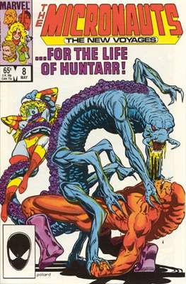 The Micronauts The New Voyages (Comic Book) #8