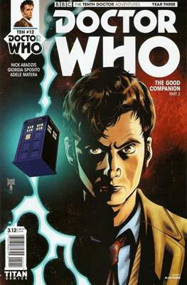 Doctor Who: The Tenth Doctor Adventures Year Three (Comic Book) #12