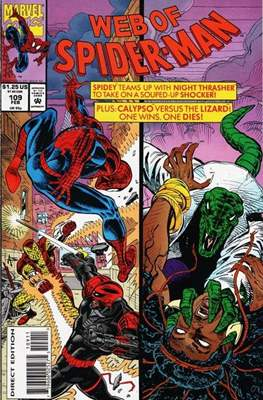 Web of Spider-Man Vol. 1 (1985-1995) (Comic-book) #109
