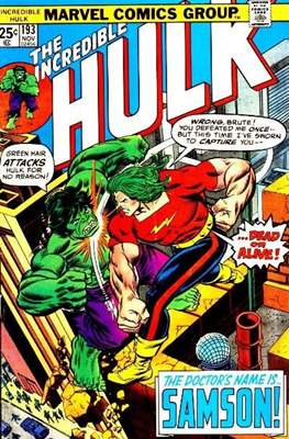 The Incredible Hulk Vol. 1 (1962-1999) (Comic Book) #193