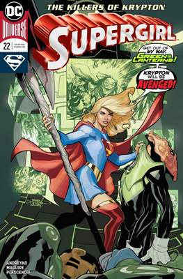 Supergirl Vol. 7 (2016-) (Comic Book) #22