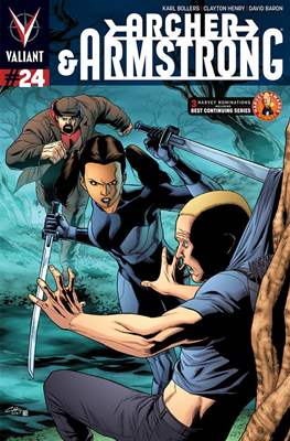 Archer & Armstrong (Comic Book) #24
