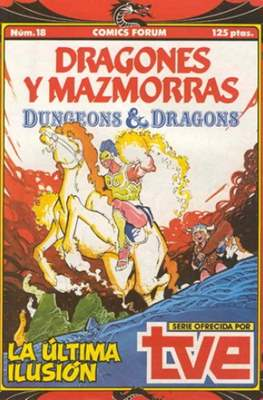 Dungeons and dragons. Dragones y mazmorras (Grapa 32 pp) #18