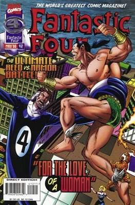 Fantastic Four Vol. 1 (1961-1996) (saddle-stitched) #412