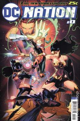 DC Nation (Variant Covers) (Comic Book) #0.3