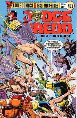 Judge Dredd in 'The Judge Child Quest' #2
