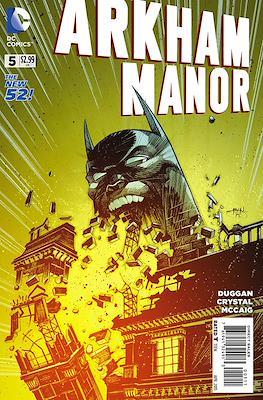 Arkham Manor (2014-2015) (Comic-book) #5