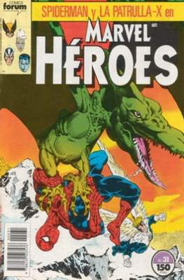 Marvel Héroes (1986-1993) (Grapa 32 pp) #31