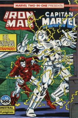 Iron Man Vol. 1 / Marvel Two-in-One: Iron Man & Capitán Marvel (1985-1991) (Grapa, 36-64 pp) #56