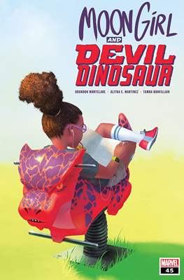 Moon Girl and Devil Dinosaur (Comic-book) #45