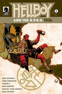 Hellboy and the B.P.R.D. (Comic-book) #25