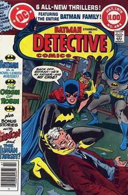 Detective Comics Vol. 1 (1937-2011; 2016-) (Comic Book) #484