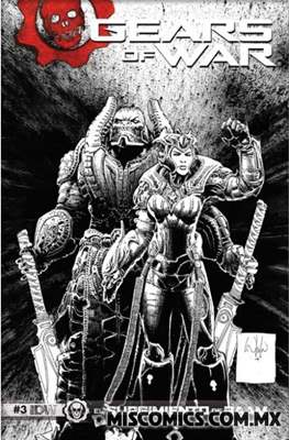 Gears of War (Portada Variante) #3.1