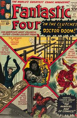 Fantastic Four Vol. 1 (1961-1996) (saddle-stitched) #17