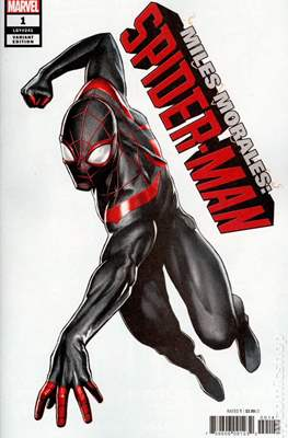 Miles Morales: Spider-Man (2018 Variant Cover) (Comic Book 24 pp) #1