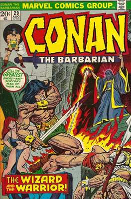Conan The Barbarian (1970-1993) (Comic Book 32 pp) #29