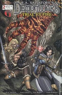 Demon Wars: Trial by Fire (2003) (Grapa) #2