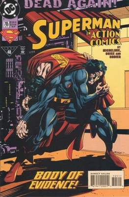 Action Comics Vol. 1 (1938-2011; 2016-) (Comic Book) #705
