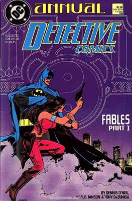 Detective Comics Vol. 1 Annual (1988-2011) (Comic Book) #1