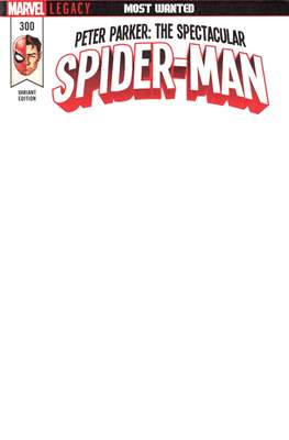 Peter Parker: The Spectacular Spider-Man (2017-2018 Variant Cover) (Comic Book) #300.2