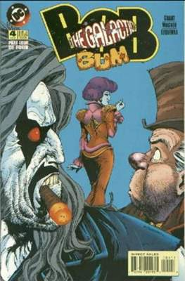 Bob the Galactic Bum (Comic Book) #4