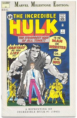Marvel Milestone Edition. Hulk #1