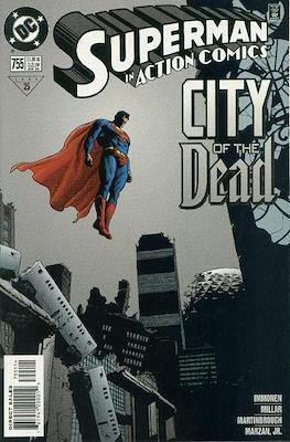 Action Comics Vol. 1 (1938-2011; 2016-) (Comic Book) #755