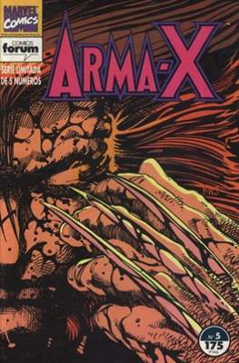 Arma-X vol. 1 (1992) (Grapa) #5