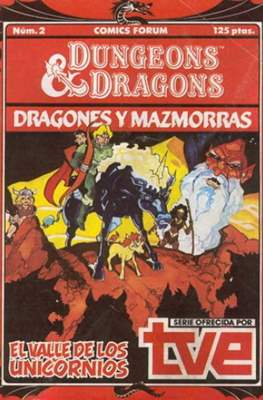 Dungeons and dragons. Dragones y mazmorras #2