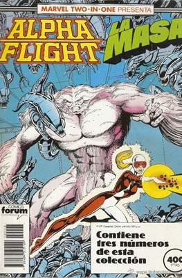 Alpha Flight (Vol. 1) (Retapado Rústica) #8