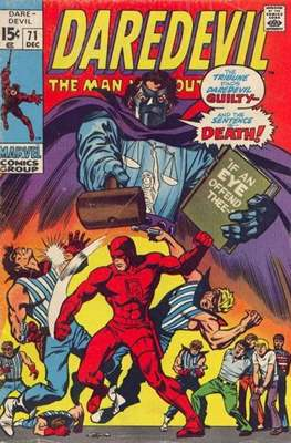 Daredevil Vol. 1 (1964-1998) (Comic Book) #71