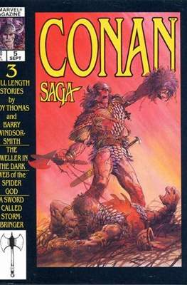 Conan Saga (Comic-book) #5