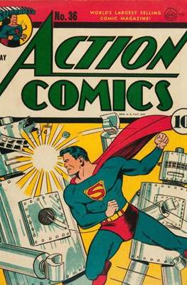 Action Comics Vol. 1 (1938-2011; 2016-) (Comic Book) #36