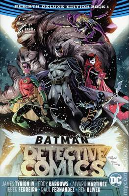 Batman Detective Comics: Rebirth Deluxe Edition
