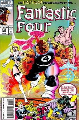 Fantastic Four Vol. 1 (1961-1996) (saddle-stitched) #386