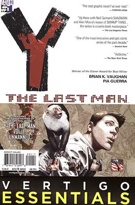 Vertigo Essentials: Y The Last Man