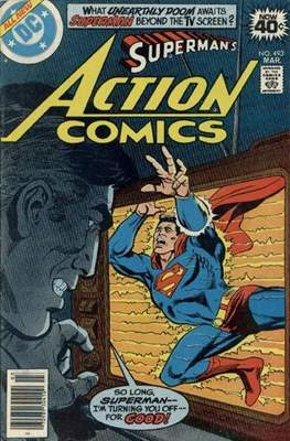 Action Comics Vol. 1 (1938-2011; 2016-) (Comic Book) #493
