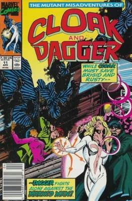Cloak and Dagger Vol. 3 (1988-1991) (Comic-book.) #11