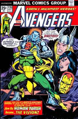 The Avengers Vol. 1 (1963-1996) (Comic Book) #135