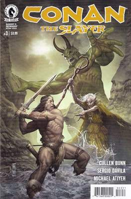 Conan The Slayer (Comic-book) #3