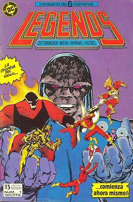 Legends (1987-1988) (Grapa 36 pp) #1