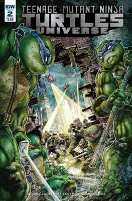Teenage Mutant Ninja Turtles Universe (Comic Book) #2