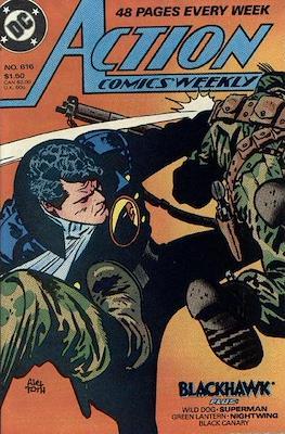 Action Comics Vol. 1 (1938-2011; 2016-) (Comic Book) #616